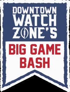 downtown watch zone's big game bash